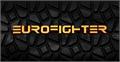 Illustration of font Eurofighter