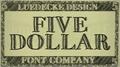 Illustration of font FiveDollar
