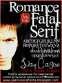 Illustration of font Romance Fatal Serif