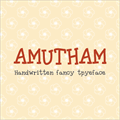 Illustration of font Amutham