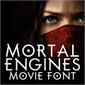 Illustration of font Mortal Engines