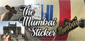Illustration of font The Mumbai Sticker Demo