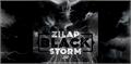 Illustration of font Zilap Black Storm