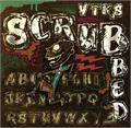 Illustration of font VTKS SCRUBBED
