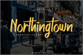 Illustration of font Northingtown