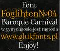 Illustration of font FoglihtenNo04