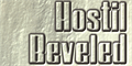 Illustration of font HostilBeveled