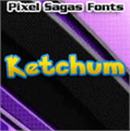 Illustration of font Ketchum