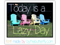 Illustration of font LazyDay