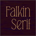 Illustration of font Falkin Serif PERSONAL