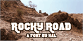 Illustration of font Rocky Road