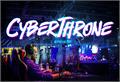 Illustration of font Cyberthrone