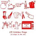 Illustration of font LCR Kitchen Dings