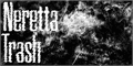 Illustration of font Neretta Trash