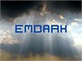 Illustration of font Embark