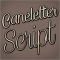 Illustration of font Caneletter Script Personal Use