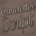 Illustration of font Caneletter Script Personal Use