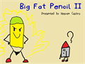 Illustration of font Big Fat Pencil 2