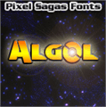 Illustration of font Algol