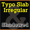 Illustration of font TypoSlab Irregular Demo