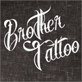 Illustration of font Brother Tattoo