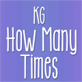 Illustration of font KG How Many Times