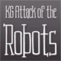 Illustration of font KG Attack of the Robots