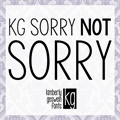 Illustration of font KG Sorry Not Sorry