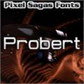 Illustration of font Probert