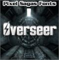 Illustration of font Overseer
