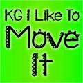 Illustration of font KG I Like To Move It