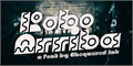 Illustration of font Robo Arriba