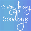 Illustration of font KG Ways to Say Goodbye
