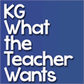 Illustration of font KG What the Teacher Wants