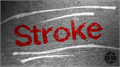 Illustration of font Stroke