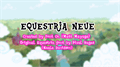 Illustration of font Equestria Neue