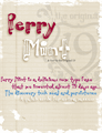 Illustration of font Perrymint