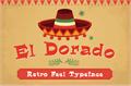 Illustration of font El Dorado  Bold