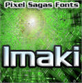 Illustration of font Imaki