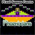 Illustration of font Phoenixians