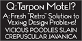 Illustration of font TarponMotel