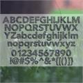Illustration of font Folktale