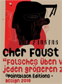 Illustration of font Cher Faust