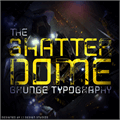 Illustration of font Shatterdome Personal Use