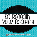 Illustration of font KG Beneath Your Beautiful