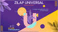 Illustration of font Zilap Universal
