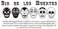 Illustration of font Dia de los Muertos Limited Free