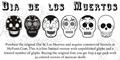 Illustration of font Dia de los Muertos Limited Free