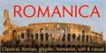 Illustration of font Romanica