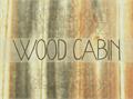 Illustration of font WoodCabin